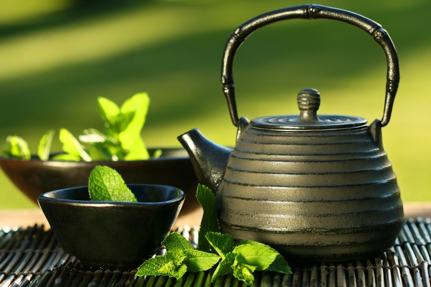 green tea can be a part of healthy diet for athlete, picture