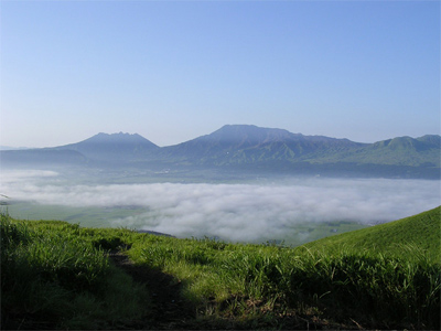 Aso Valley, Japan