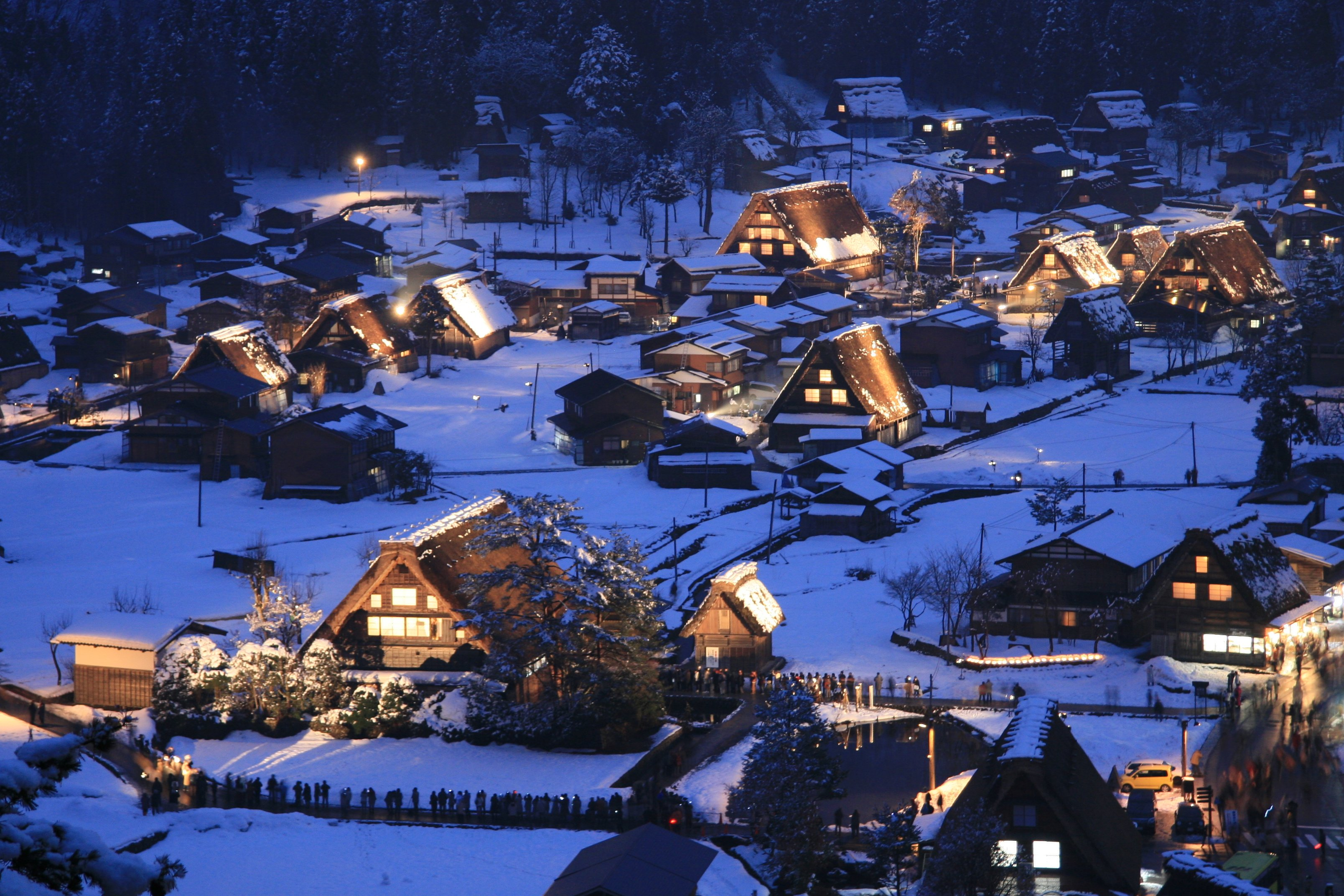 Village of Shirakawa, Tochigi Prefecture